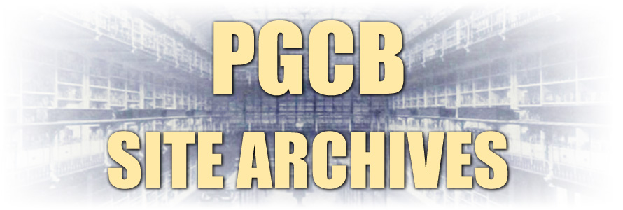 PGCB Site Archive Page