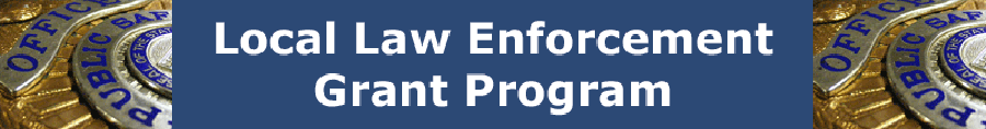 Law Enforcement Grants page header