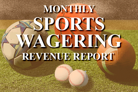 Sports Wagering Revenue report