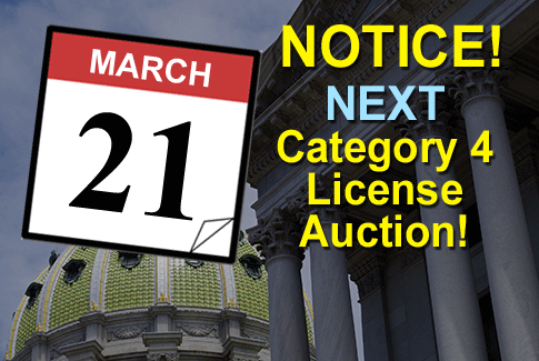 Next Category 4 License Auction
