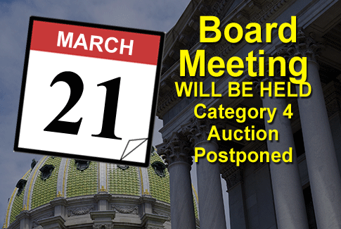 Next Regular Board Meeting March 7th 2018
