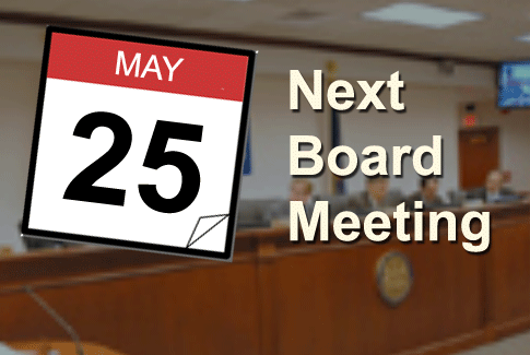 Board Meeting May 25th