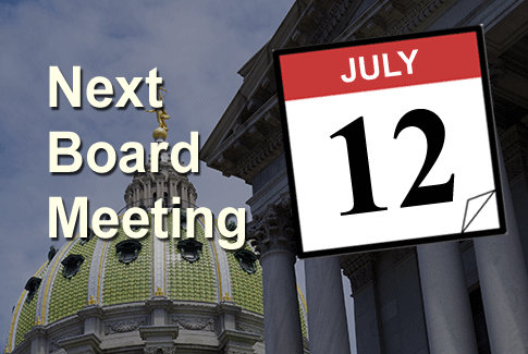 Next Board Meeting July 12th 2017