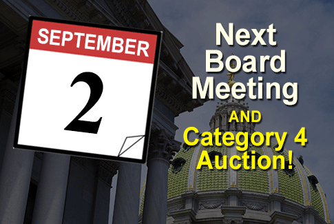 Next board meeting September 2nd