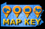 Map key to symbols