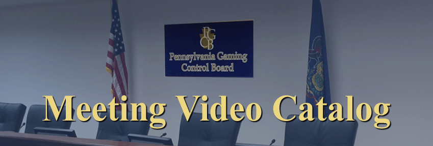 Meeting Video Catalog